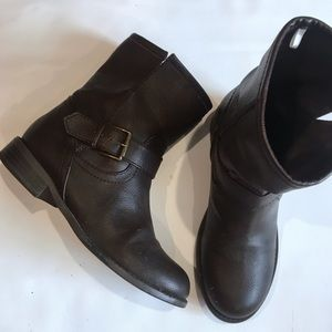 Nine West brown mid calf boots